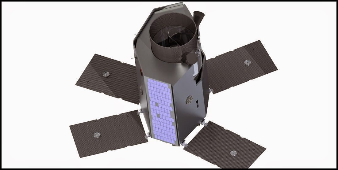 Rendering of the Twinkle mission spacecraft. Credit: Twinkle/SSTL