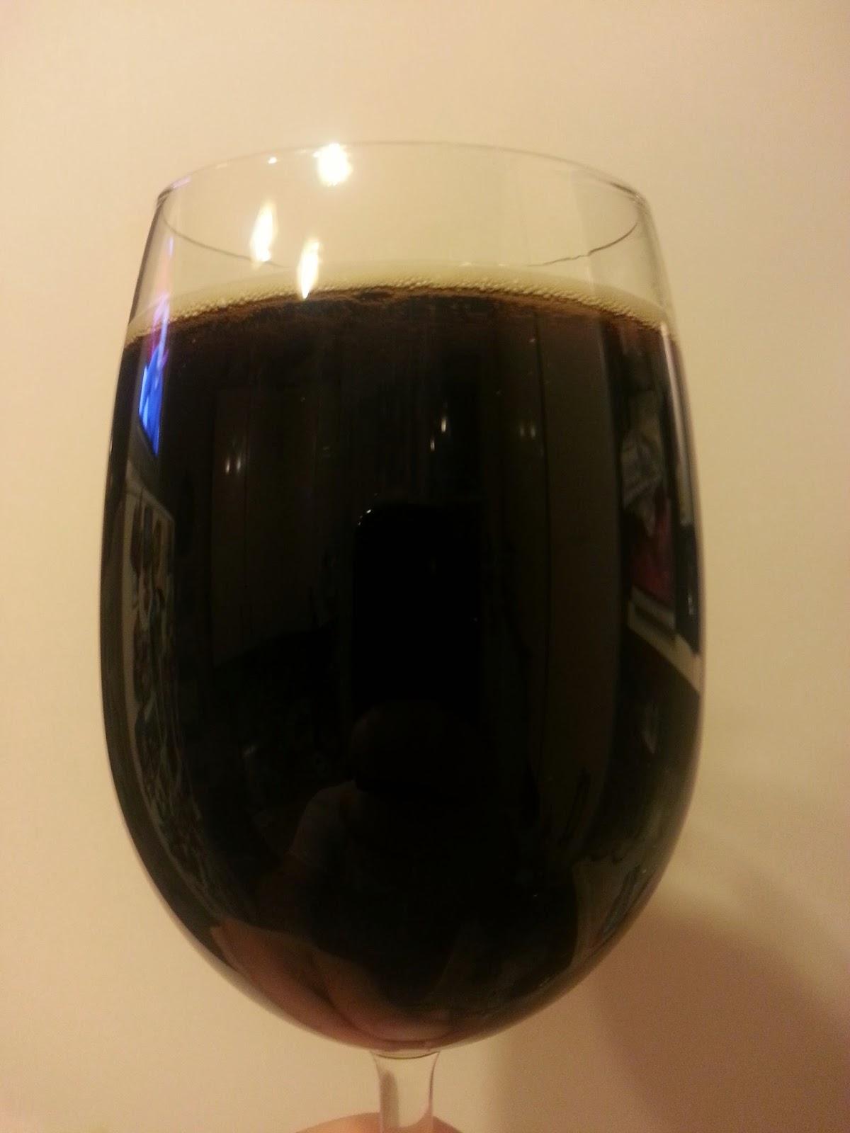 St. Peter's Winter Ale. В бокале