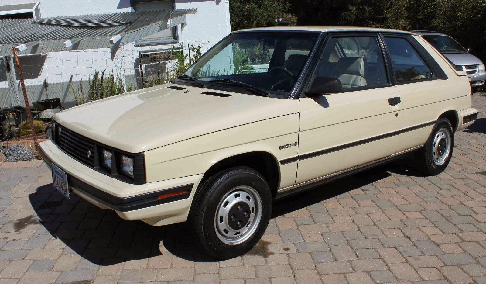 1987 Renault Alliance GTA | Bring a Trailer