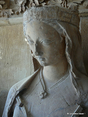 Reims - cathédrale - sculpture
