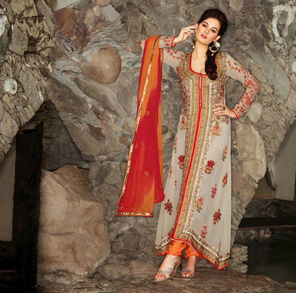 To Be Gorgeous With Indian Designers Salwar Suits | Readymade Silk ...