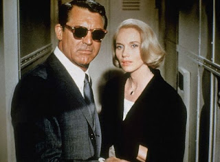 Saint and Grant North by Northwest 1959 movieloversreviews.blogspot.com
