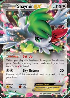 Shaymin EX Roaring Skies