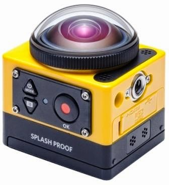 Kamera 360 Action-Camera PixPro SP360 Dari Kodak