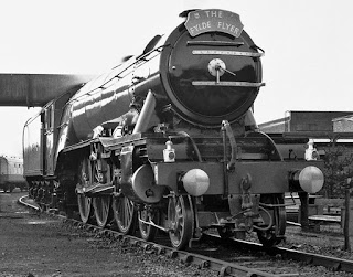 Flying Scotsman at Carnforth