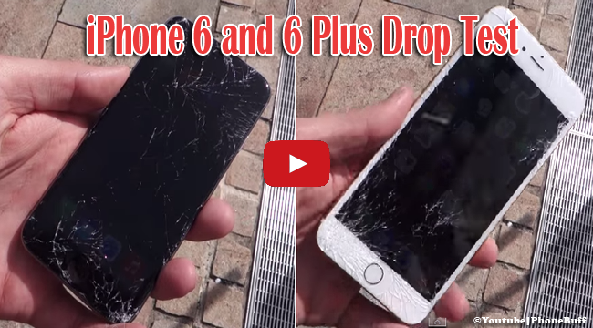 Watch iPhone 6 and 6 Plus Drop Test on Viral Video