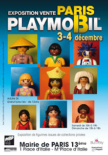 1er Salon Playmobil Paris, Mairie du 13ème arrondissement
