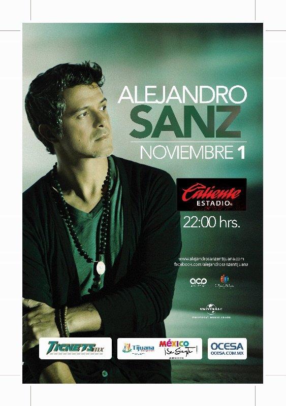 Alejandro Sanz Alejandro Sanz en Tijuana