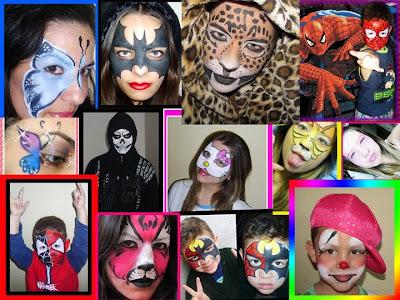 tinta facial pintura facial maquiagem corporal pigmento makeup make up