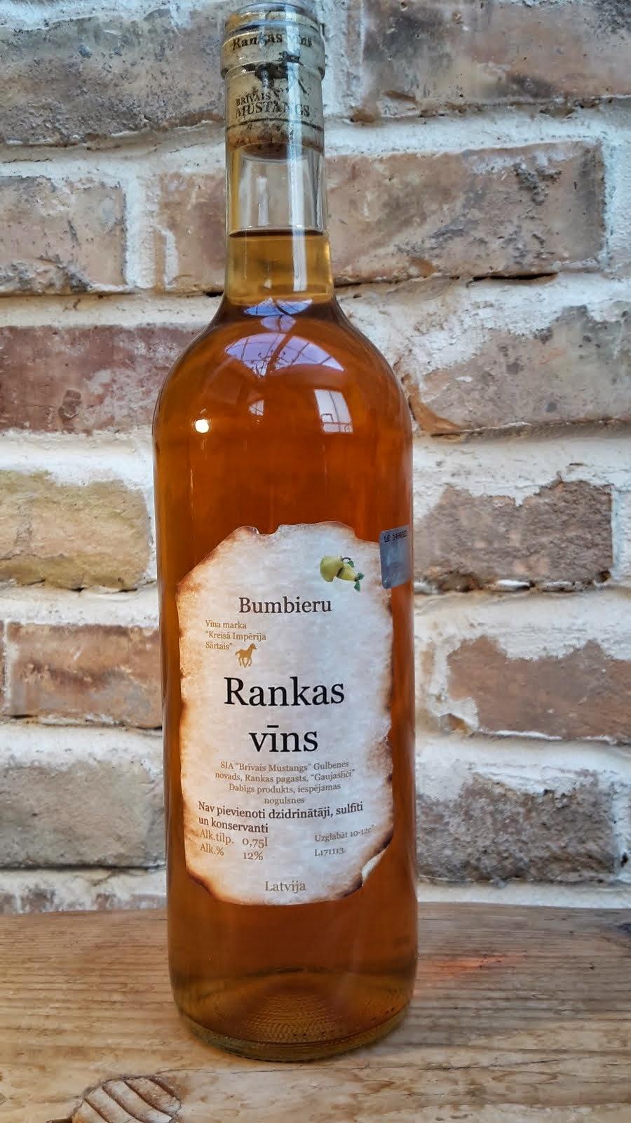 Bumbieru pussaldais vīns 0.2 l, 0.75 l