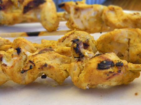 Chicken Tikka Kabobs