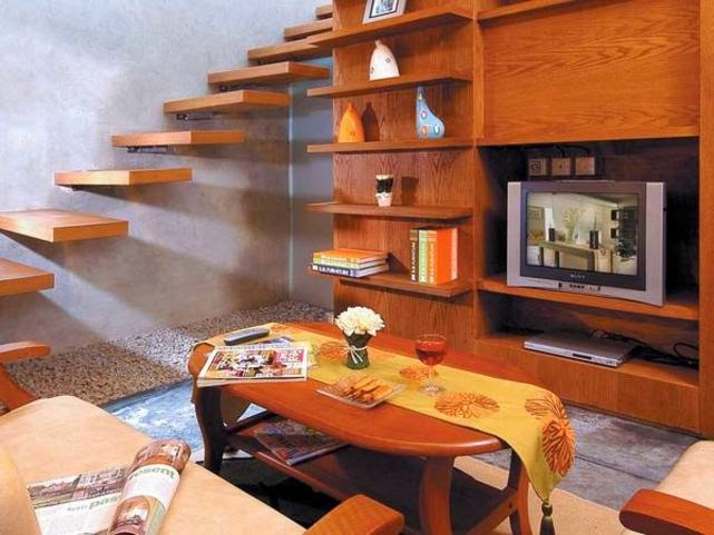 lemari TV minimalis ruang tamu