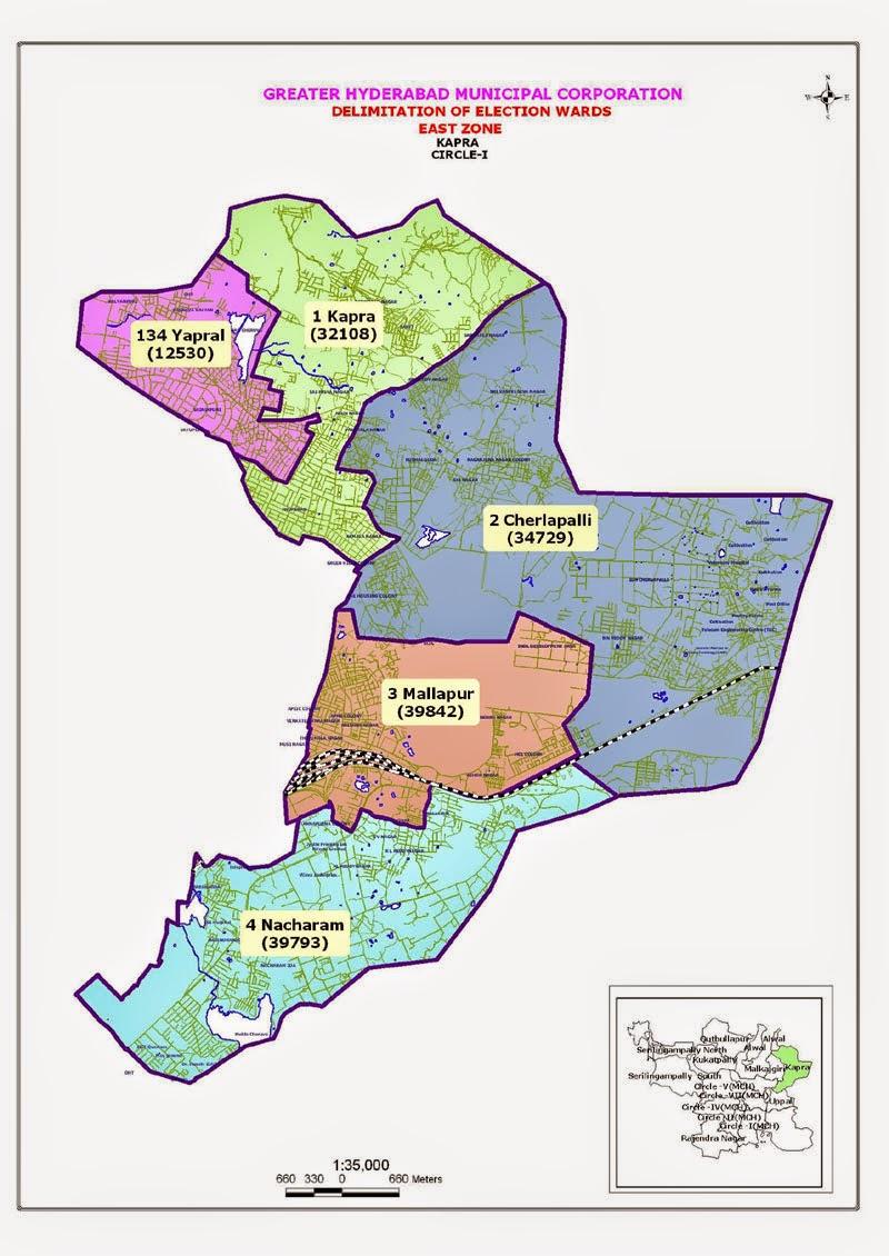 GHMC Circle 1 Map