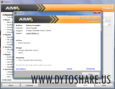 AIMP 3.60 Build 1495 Final Terbaru