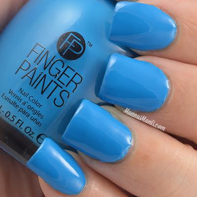 FingerPaints Tie Dye Revolution Be Hippy swatches