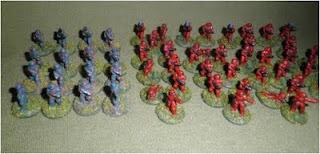 Imperial Marine Platoon - figures by Ground Zero Games