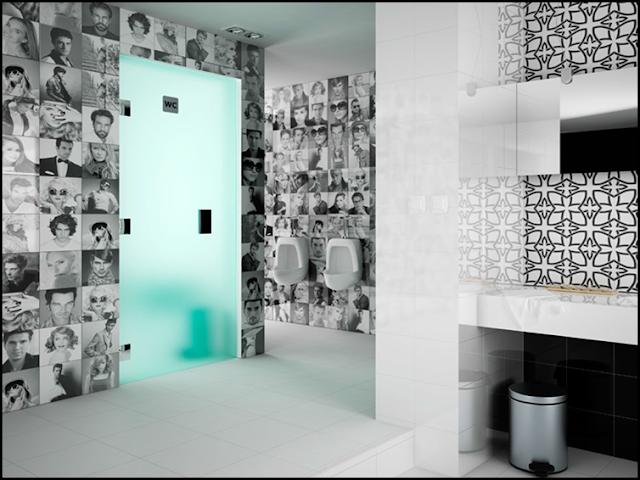 Azulejos Baño Aparici:Miradas indiscretas en tu baño con azulejos de caras te sorprende