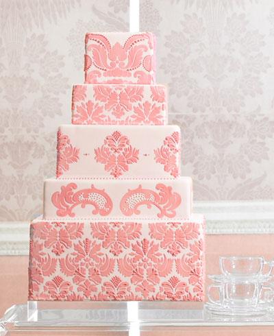 Lamb Amp Blonde Wedding Wednesday Pink Cakes