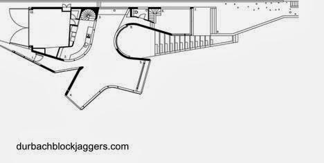Plano de planta de la casa de playa australiana