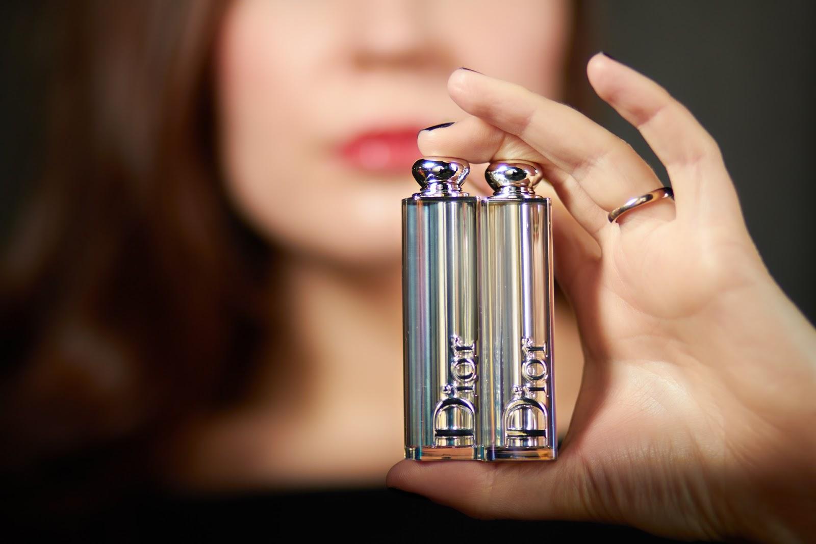 dior addict lipstick jennifer lawrence nouveau rouge à lèvres avis test swatch