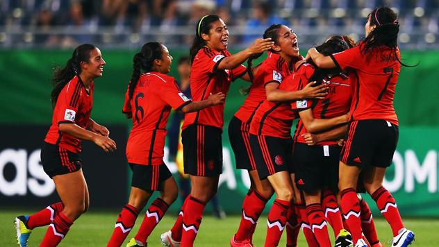 Copa Mundial Femenina Sub-20 Canadá 2014. Fase de Grupos: México vs. Nigeria | Ximinia