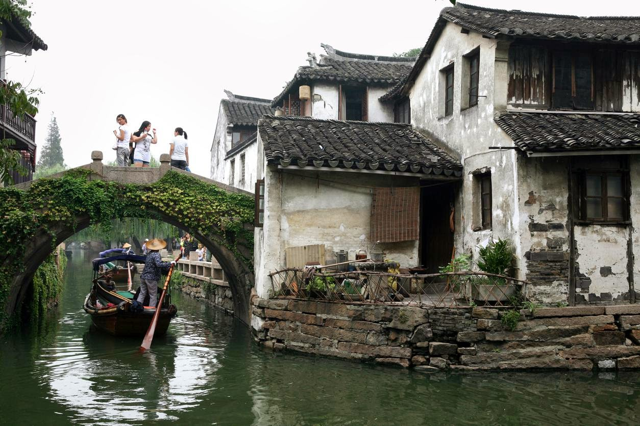 The village Zhouzhuang, near Shanghai. Credit Liron Almog/Redux   A cultural awakening in a city both glitzy and historic.