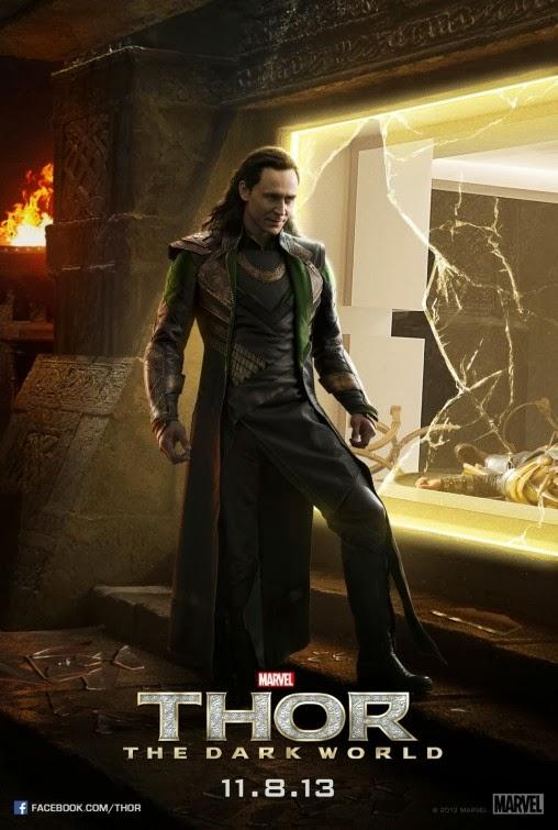 Loki Thor Dark World poster