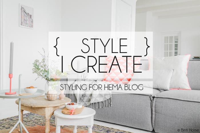 Styling en fotografie Hema Blog | Binti Home