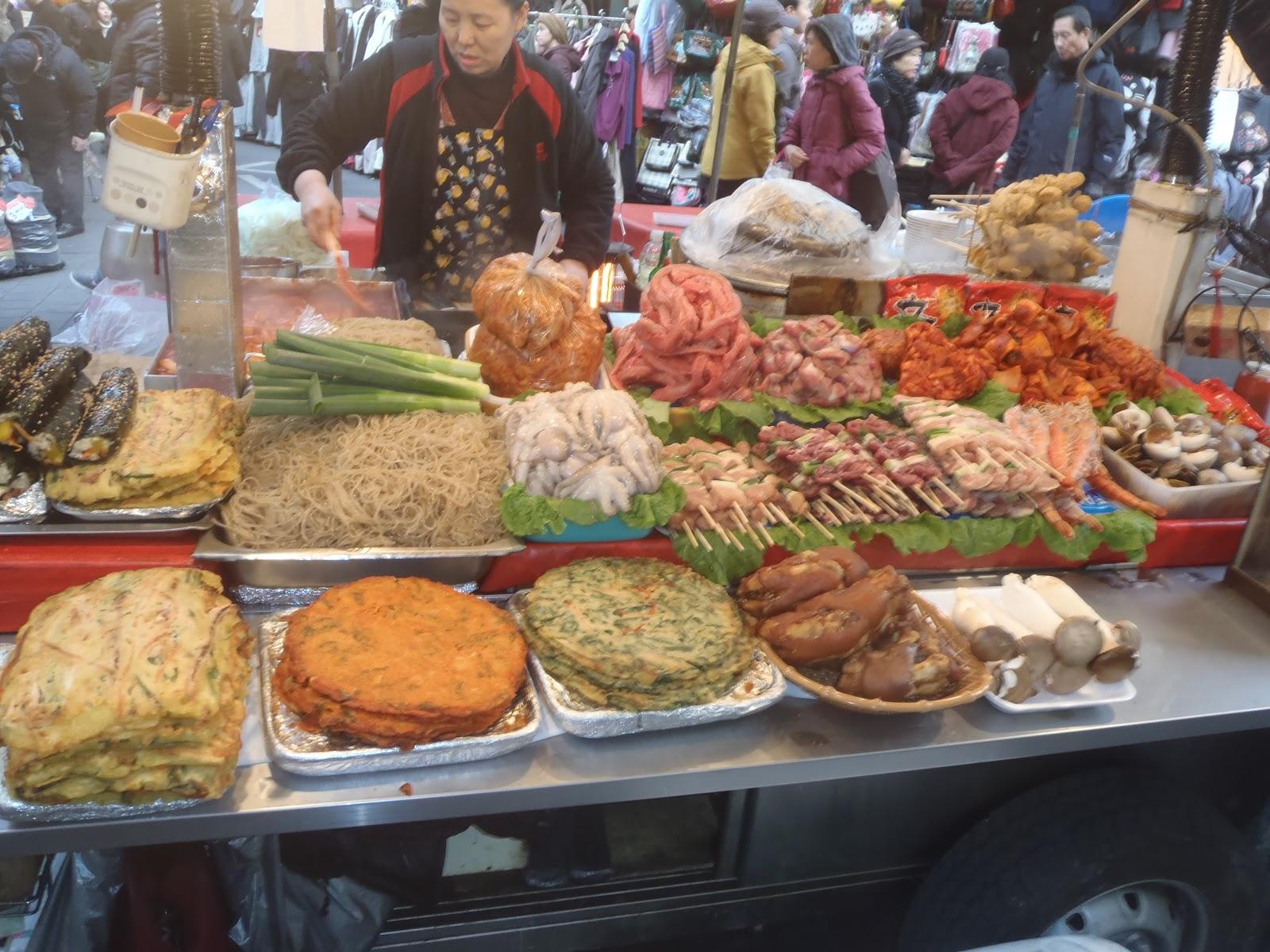 Johnny 39 s peace corps experience korean street market food for Johnny s fish market