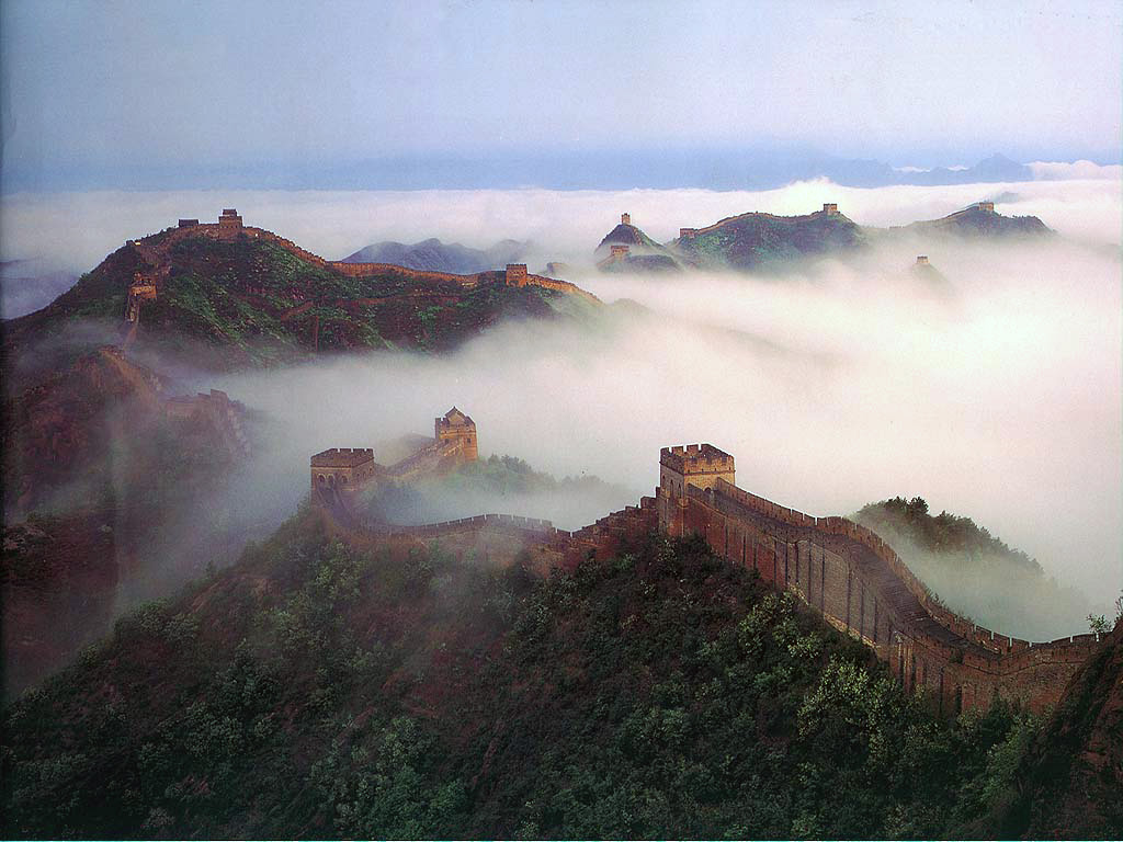 World Beautifull Places The Big Wall Of China
