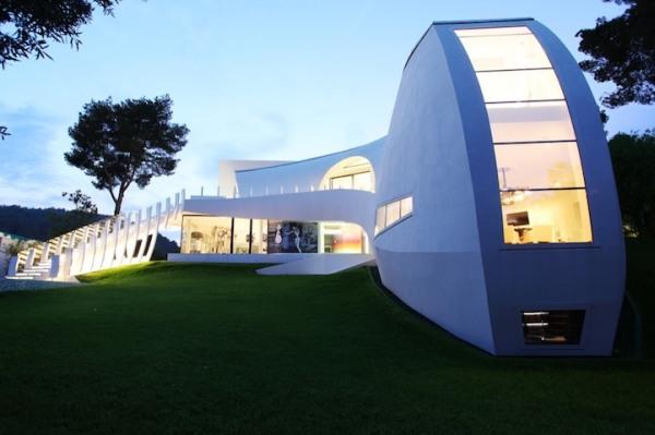 Futuristic House Luxury House Future Architecture