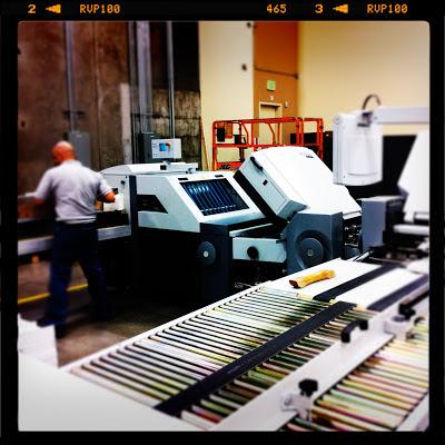 GotPrint bindery employee working machines