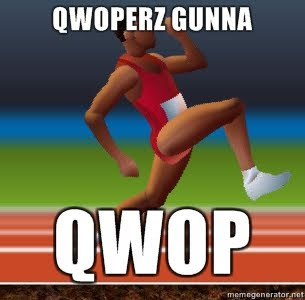 Qwop made my brain go girp off topic giant bomb in qwop youre a runner in the olympics your aim is to run 100m but because your team was severely under funded youre ccuart Image collections