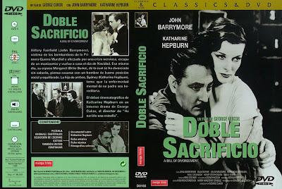 Cover, dvd, caratula: Doble sacrificio | 1932 | A Bill of Divorcement