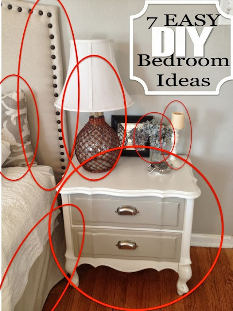 Two it yourself refinished nightstand in diy chalk paint for Cheap diy nightstand