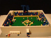 Tampa Bay Rays Tropicana Field Lego Micro Creation