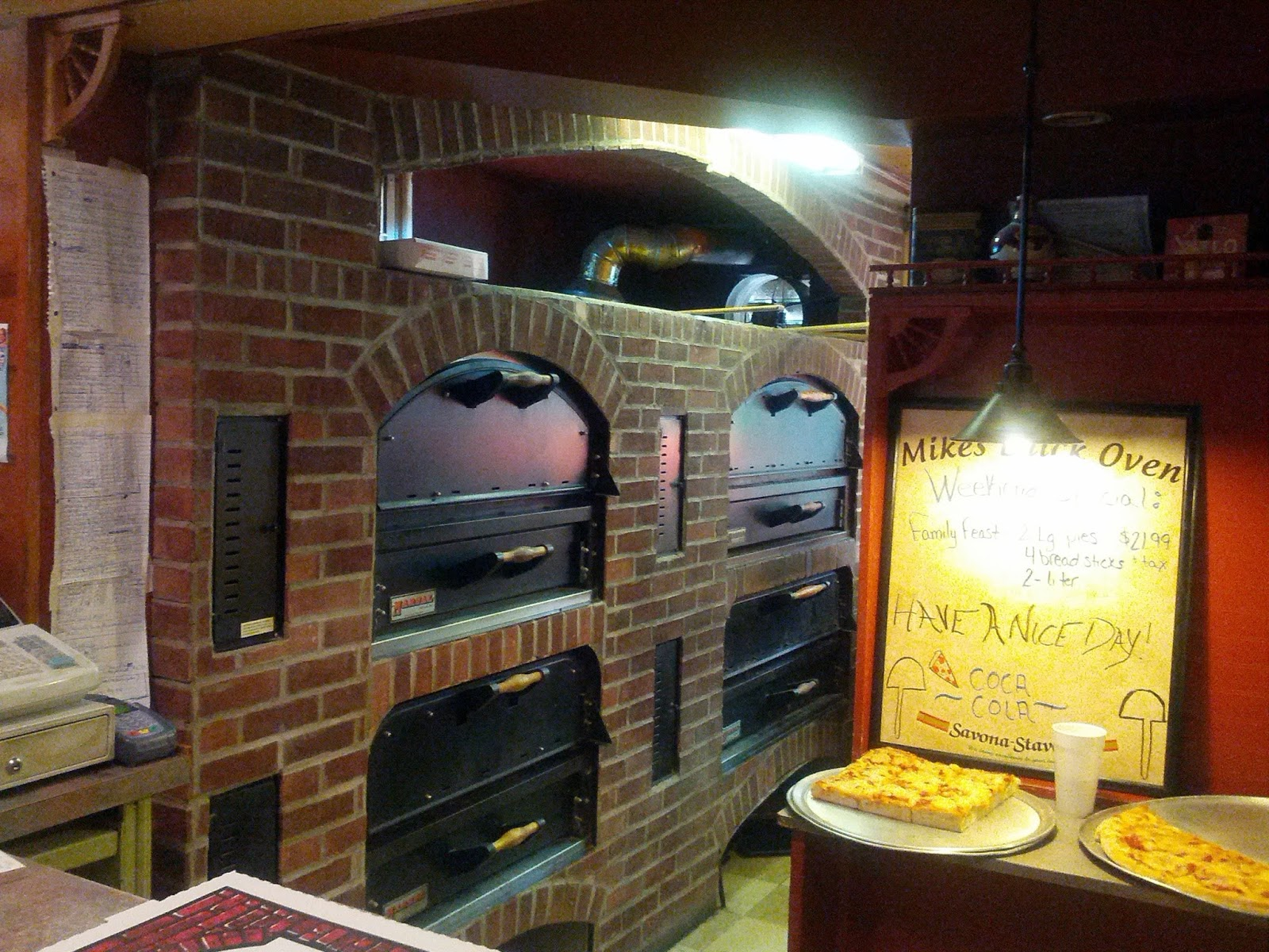 Mike's brick oven pizza coupons