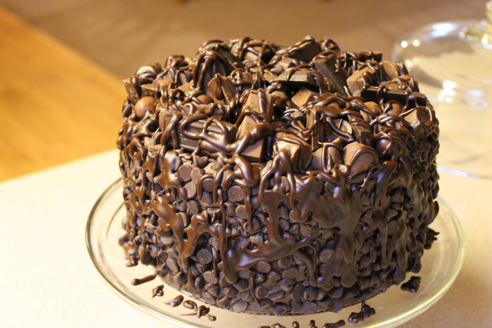 The Simple Cake: Chocolate Wasted Cake!!
