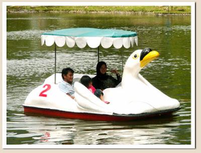 Jual Sepeda Air | Perahu Bebek Fiber Murah