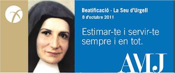 Logo de la Beatificación de Ana María Janer Anglarill