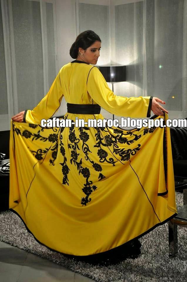 caftan jaune 2015