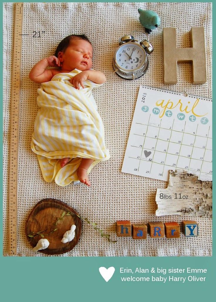Suficiente MÃES POR INTEIRO: Idéias para registrar a chegada do seu bebê! RO58