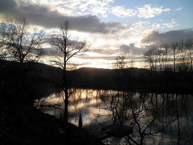 Zalazak sunca na Zapadnoj Moravi (Trstenik)