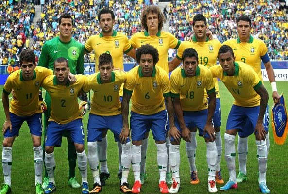 Brazil Players List For The 2014 World Cup