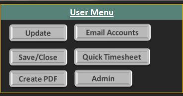 excel vba macros timesheet dashboard