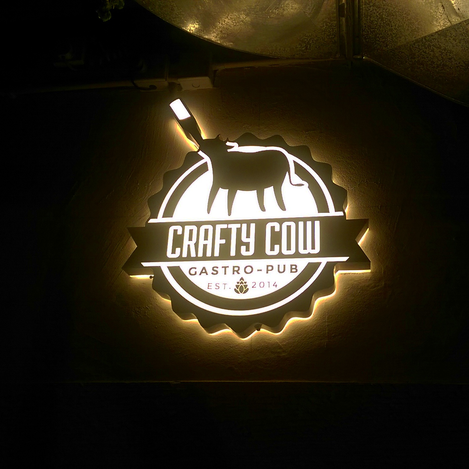 crafty cow hong kong logo sheung wan restaurant third culture dining