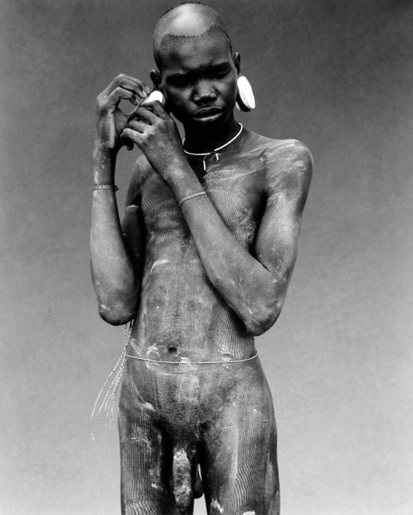 Nude African Tribes Men