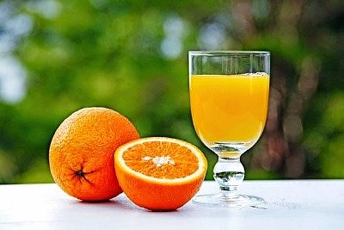 Nước cam tươi- giúp giảm cân an toàn và hiệu quả nhất