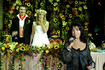Осенняя свадьба в русском стиле.