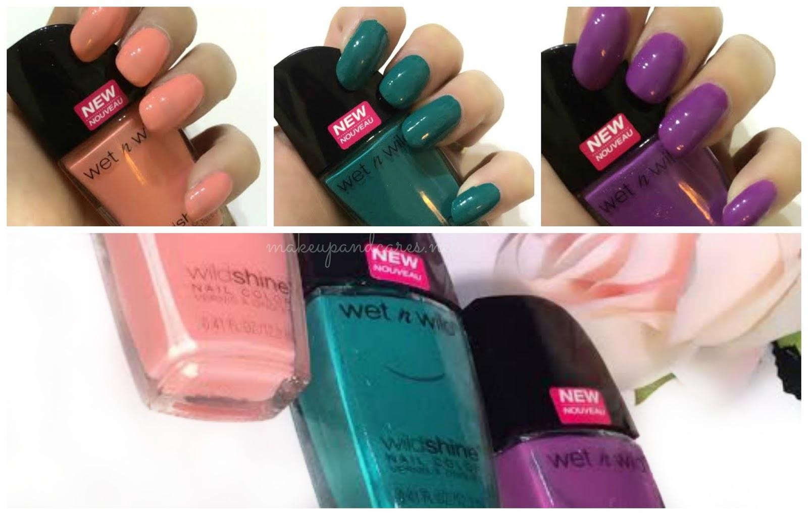 Viste tus uñas con los nuevos Wild Shine Nail Color de Wet n Wild ...